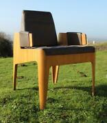 Pando Orient Line Ss Canberra John Wright Peacock Room Iconic Plywood Chair C-1961