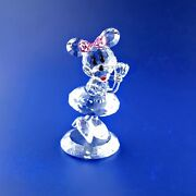 Crystal World Disney Minnie Mouse Gee, You're The Sweetest 2826/4750
