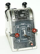 Piper Aztec Pa23-250 Cockpit Fuel Selector Panel With Valves
