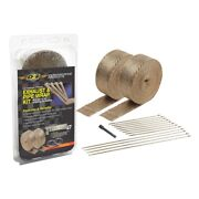 Dei 010095 Titanium Exhaust And Header Wrap Kits 2in X 50ft Lava Rock Material