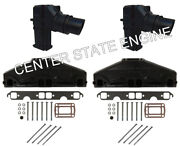 5.0l/5.7l Volvo Penta/omc Style Exhaust Manifold And Riser Kit. X-tra Tall 3862627