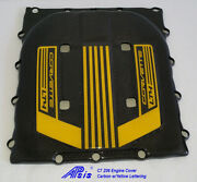 C7 Z06 Supercharger Engine Cover Tall Version W/yellow Lettering 2017-up