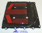 C7 Z06 Supercharger Engine Cover Tall Version W/red Lettering 2017-up