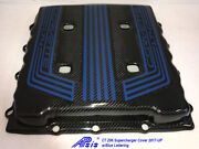 C7 Z06 Supercharger Engine Cover Tall Version W/blue Lettering 2017-up