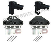 4.3l 262 Volvo Penta/omc Style Exhaust Manifold And Riser Kit. X-tra Tall 3889964