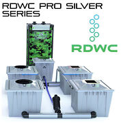 Hydroponic Alien Rdwc Pro Silver Series Pot System Iws System Autofeed Easyfeed