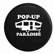 Spare Tire Cover Pop-up Paradise Popup Camper Rv Accessories