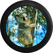 Spare Tire Cover Koala Bear In Bamboo Tree Endangered Species Jk Accessories