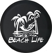 Spare Tire Cover Beach Life Palm Trees Jk Accessories