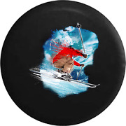 Spare Tire Cover Downhill Skiing Ski Trick Jumping Jk Accessories