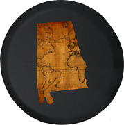 Spare Tire Cover Alabama - Old World Travel Map Jk Accessories