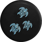 Spare Tire Cover Family Sea Turtles Water Pattern Jk Accessories