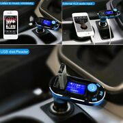 Bluetooth For Car Hands Free Charger Usb Fm Radio Player Mp3 Novelty