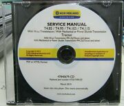 New Holland T4.85 / T4.95 / T4.105 / T4.115 Service Manual   47840679-cd