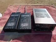 Crestor Receivers One Ir 433 Mhz And On Is 418 Mhz Plus Power Supply