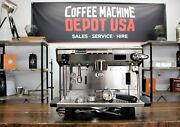 Rancilio Classe 8 - 1 Group High Cup Commercial Espresso Coffee Machine