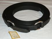 """Pair 90 1/2"""" Ideal Equestrian Leather Carriage Driving Full Size D-ring Traces"""