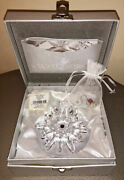 Waterford Wishes For Joy 2011 Snowflake Premier Edition Holiday Ornament 154707