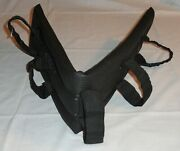 """Nos Ideal Equestrian 34 1/2"""" Carriage Breast Collar Driving Neoprene Harness Pad"""