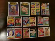 Garbage Pail Kids From Italy. Sgorbions Lot Of 30 From 1985 And 1986 No Doubles