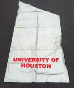 Vintage Univ.of Houston Cougars Banner Street Post Flag Aac American Conf. 4and039x8and039
