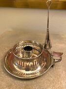 Paul Storr And Mortimer Silver Chamberstick Candlestick Hunt Roskell London