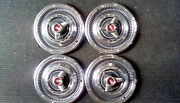 14 Plymouth Hubcaps 1966
