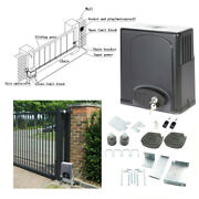 1400lbs Sliding Gate Opener Electric Operator W Remote Control Automatic Roller