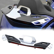 Rear Trunk Top Luggage Rack W/led Red Lens For Honda Goldwing Gl1800 18-21 18 19