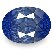 Igi Certified Burma Blue Sapphire 3.06 Cts Natural Untreated Lively Intense Blue