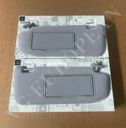 Mercedes-benz W220 S-class Genuine R. And L. Side Sun Visors S430 S500 New 2000-06