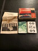 Vintage Parker Brothers Improved Edition Touring Automobile Card Game 1937