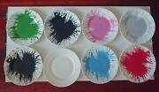 Mr Brainwash Plates Fragile Heart Rare Hard 2 Find Set 8 Must Have For Collector
