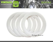 [lg4091] Vintage Collector Car Automobile Wheel White Wall Tires 10