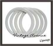 [lg4090] Vintage Collector Car Automobile Wheel White Wall Tires 16