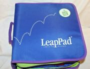 Leap Pad Plus Writing And Microphone3 Books2 Cartridges And Carrying Case Used