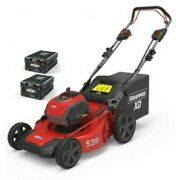 Lawn Mower Battery Powered Snapper Xd 82v Automotive 2 Batteries 1 Charger Items