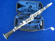 Buffet-crampon Bb Clarinet Modele 13 Made In France In 1935 New Pads Warranty
