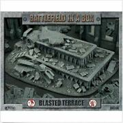 Gothic Ruins Blasted Terrace Battlefield In A Box New
