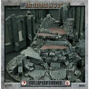 Gothic Ruins Collapsed Corner Battlefield In A Box New