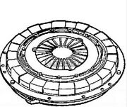 Clutch Twin-plate For Cultivator Tiller Bmw 15339