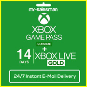 Xbox Live 14 Day Gold + Game Pass Ultimate Trial Code Instant Dispatch