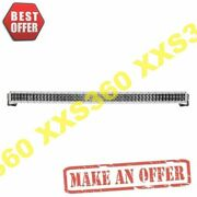 Rigid 54 Led Light Bar Double Row Curved Spot Rds-series Pro White Housing