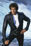 The Magic Of David Copperfield In Black Leather Jacket 18x24 Poster