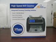 Royal Sovereign Rbc-ed200 Front Load Bill Counter 1500minaccs Counterfeit [12b]