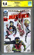 Young Justice 1 Cgc Ss 9.4 Original Art By John Delaney One Of A Kind Comic Art