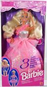 Barbie Doll 3 Looks Foreign 12339 New Never Removed From Box 1994 Mattel Inc.