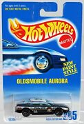 Hot Wheels Oldsmobile Aurora Police Car 12358 Never Removed From Pack 1991 164