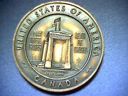 1814-1964 Collectible 150 Years Of Peace 5525 Miles Of Unfortified Border