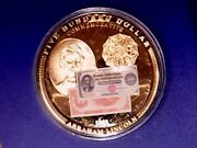 Bank Notes Of The Usa 500 Bank Note Proof Medal